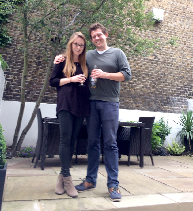 Finborough Road - Laura and Alastair
