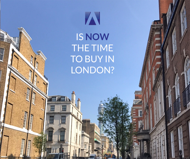 Is now the time to buy in London?